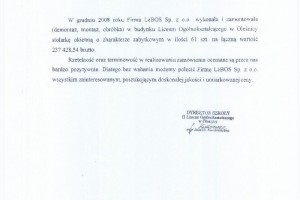 loolesnica referencje LeBOS
